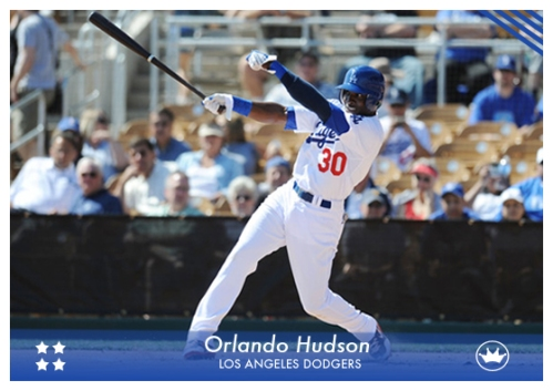Orlando Hudson and his impressive swing